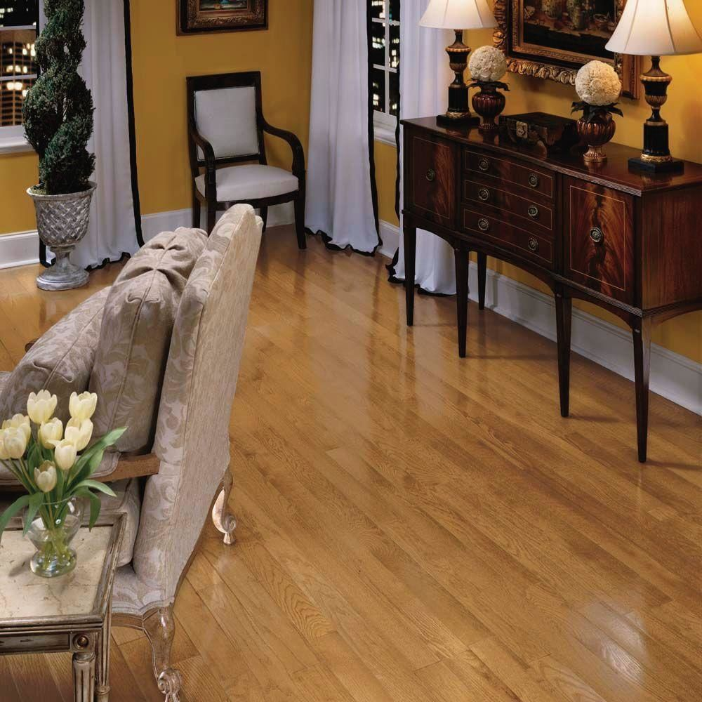 Bruce Plano Marsh Oak In Thick X Wide Random Length Solid Hardwood Flooring Sq