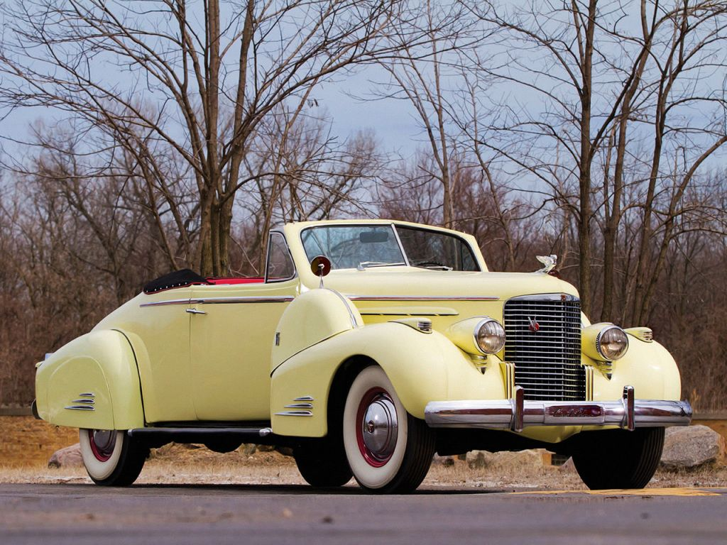 1938 Cadillac V16 Convertible Coupe by Fleetwood (38-9067) | Cars ...
