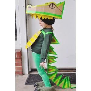 DIY Duck Tape Dragon Costume
