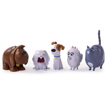The Secret Life Of Pets Mini Pets Collectible Figures 5 Pack