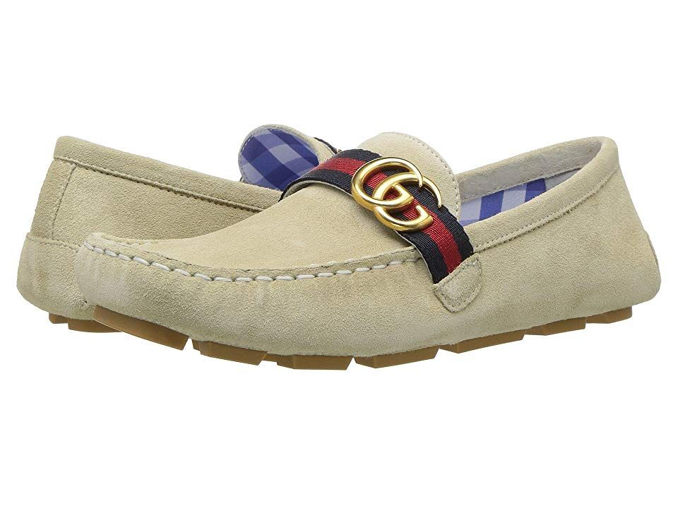 be494774d Gucci Kids Noel Driving (Little Kid) Boys Shoes Soft White in 2019 ...