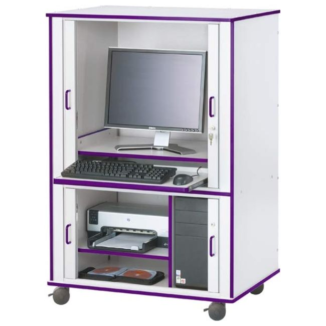 17 Interesting Computer Cabinet Desk Images Ideas