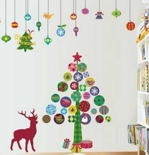 22 creative christmas home decoration ideas for every room for Christmas decorations easy to make at home