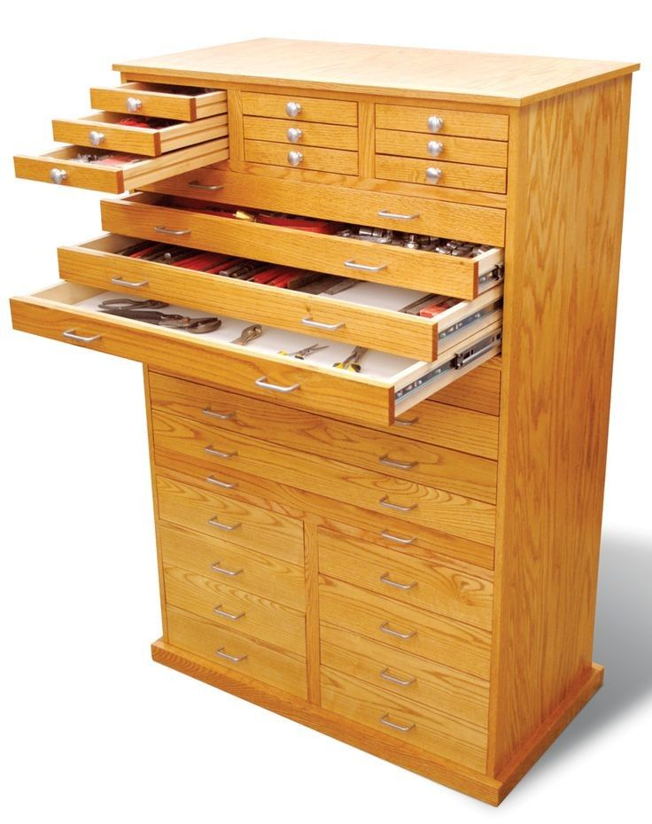 Fly Tying Storage Cabinet