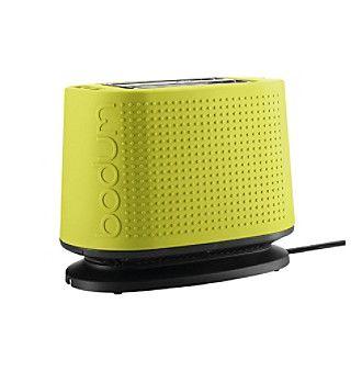 Bodum Bistro 2 Slice Toaster Available Bonton Green Kitchen Accessories Entertaining Essentials Lime Green Kitchen