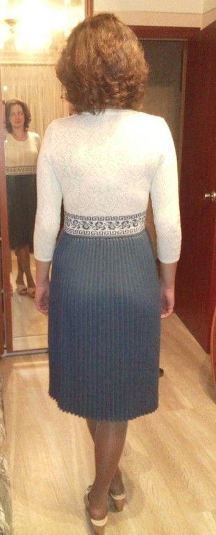Платье низ плиссе