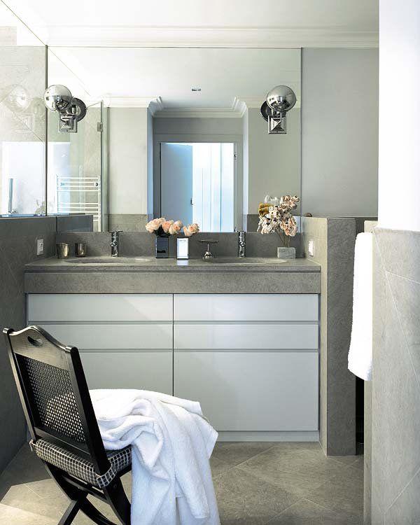Un piso reformado en Madrid | Pisos, Cuarto de baño ...
