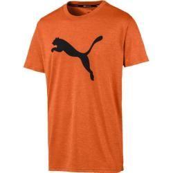 Photo of Puma Men's T-Shirt Puma Heather Cat, size L in Jaffa Orange Heather, size L in Jaffa Orange Heath