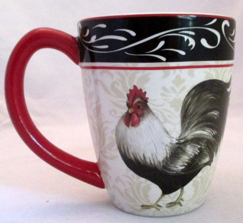Details About Cracker Barrel Daybreak Rooster Mug By Susan