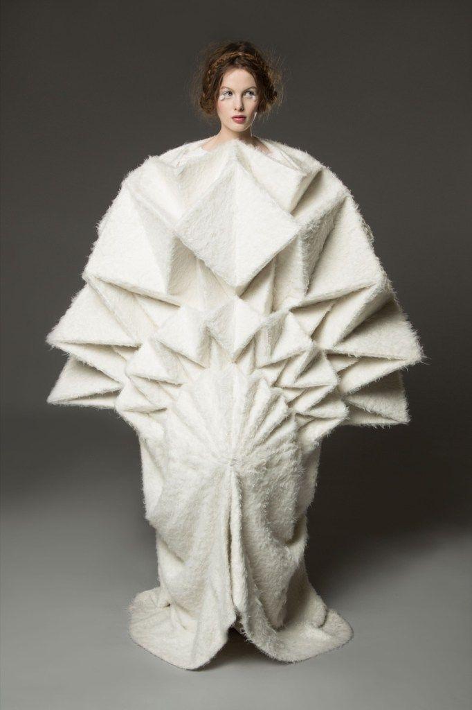 Sculpting Mind - Yuki Hagino   BA Final Collections, Fashion, Fashion Show, Graduates   1 Granary