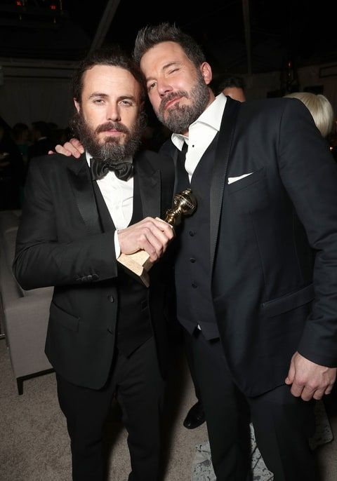 Ben Affleck Was Taken Aback By Brother Casey S Globe Speech Snub Casey Affleck Ben Affleck Ben And Casey Affleck
