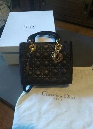 30193bed3d Sac Lady Dior marron - Vinted 1200€ | Sac | Lady dior, Dior et Lady