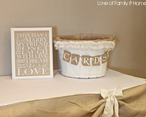 Love This Card Table Oh Happy Wedding Day Bridal Party