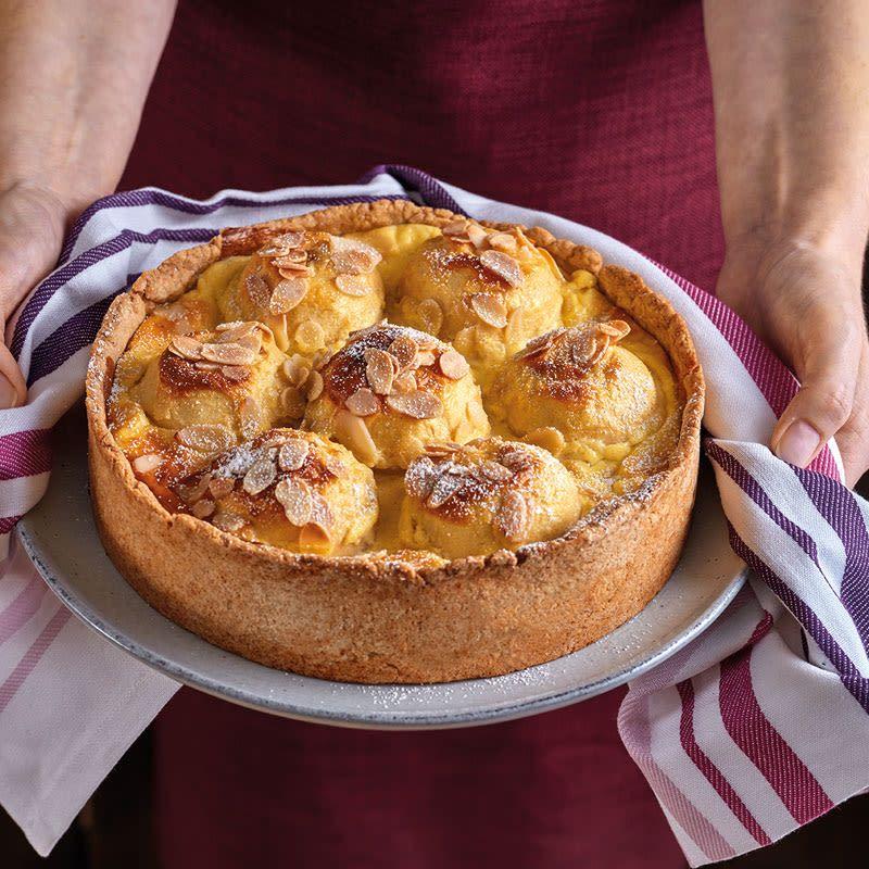 Bratapfel Pudding Kuchen Rezept In 2020 Pudding Kuchen Gebratene Apfel Und Rezepte