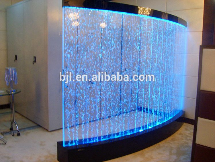 Led Acrylic Aquarium Water Bubble Wall House Hall Decoration Buy