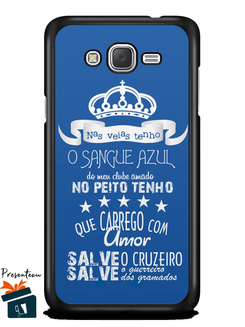 f4ba2a67f3 Capinha Case Cruzeiro-Frases