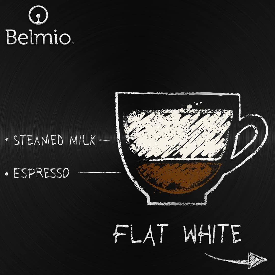 طريقة تحضير الفلات وايت ويمكنكم استخدام الاسبريسو من كبسولات بيلميو الفاخرة لتوصيل الطلبات عبر الموقع الالكتروني أو الوا Espressomachine Espressobar
