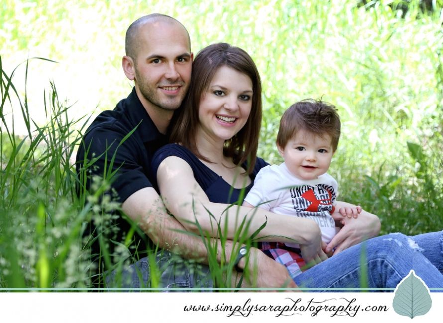 Family Portrait Ideas With 1 Year Old