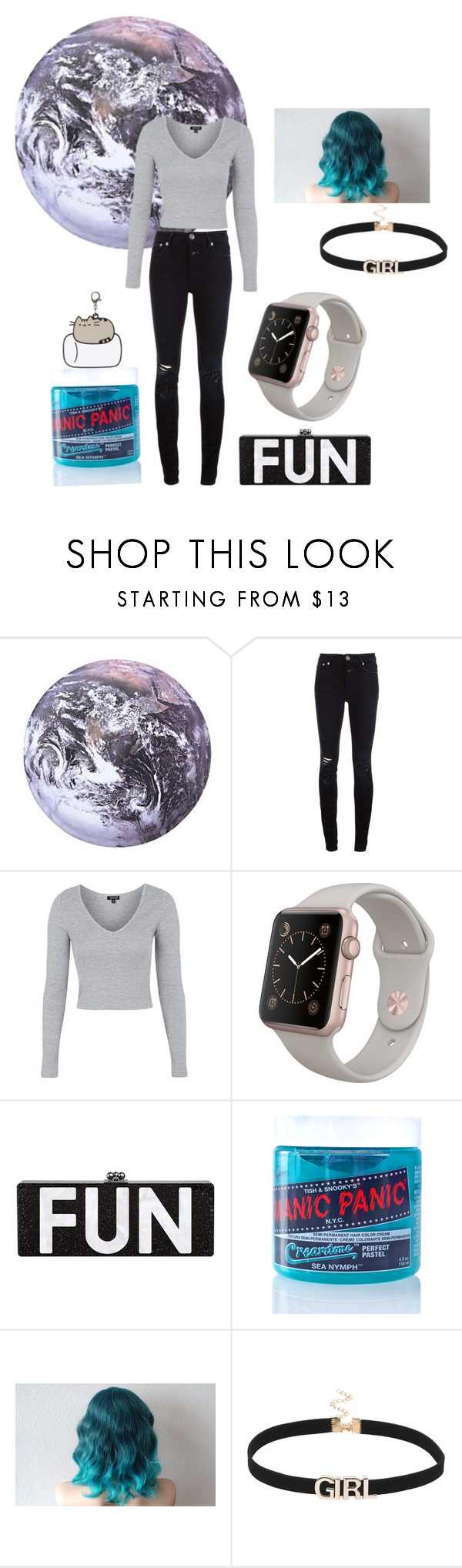 """""""Untitled #219"""" by november17 ❤ liked on Polyvore featuring Kikkerland, Closed, Topshop and Manic Panic NYC"""