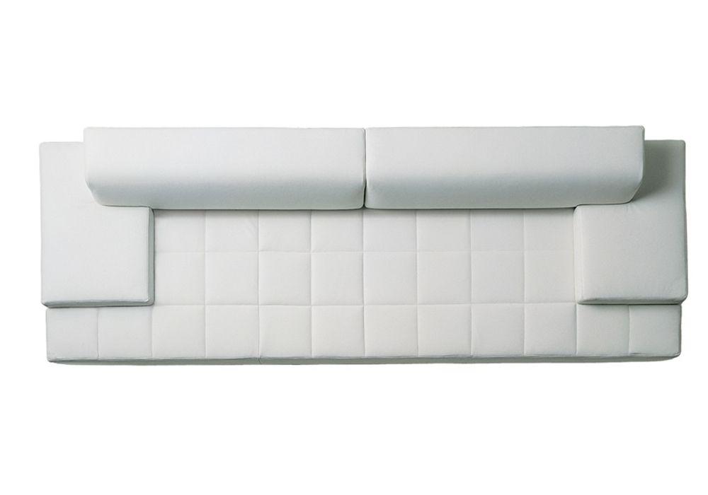 Quadra divano 2 posti braccioli bassi poltrona for Divano quadra frau