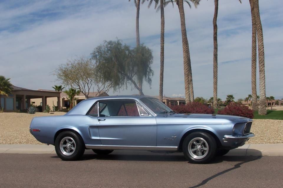 1968 Mustang Coupe In Arizona Found While Cruising The Internet For Awesome Mustangs By Www Encinitasford Com Coches Clasicos Autos Coches
