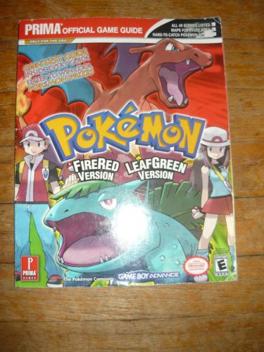 Pokémon firered and leafgreen: official nintendo player's guide.