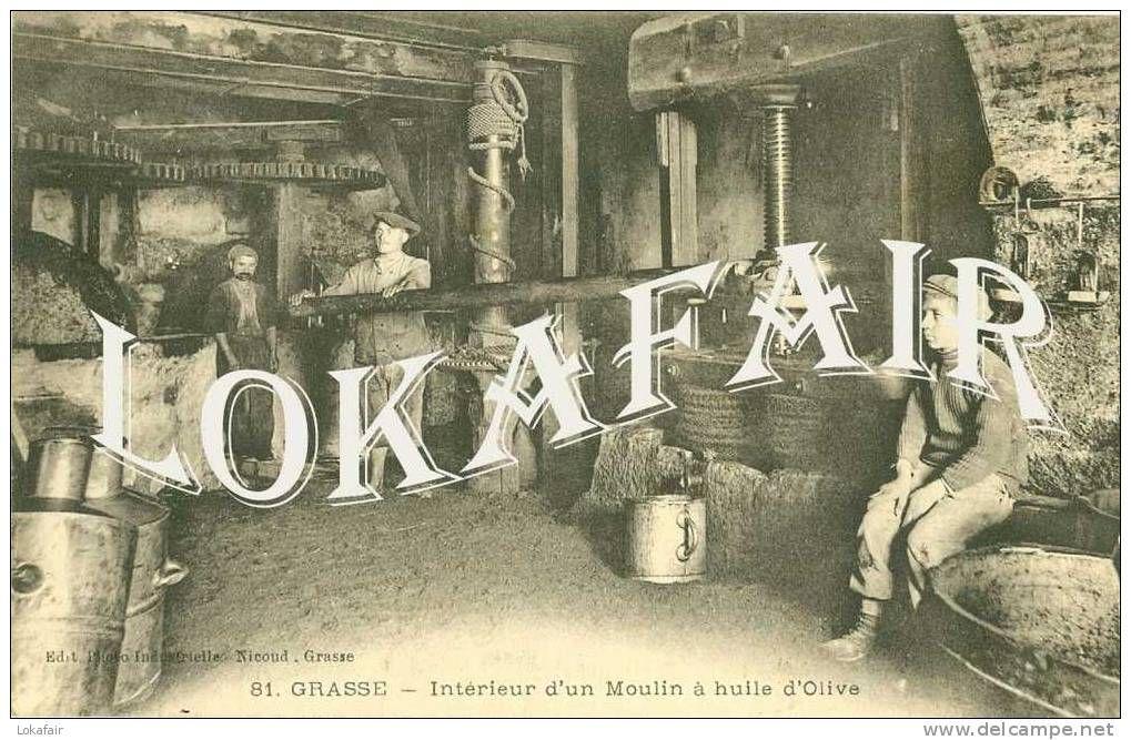 moulin à l\'huile - Delcampe.net