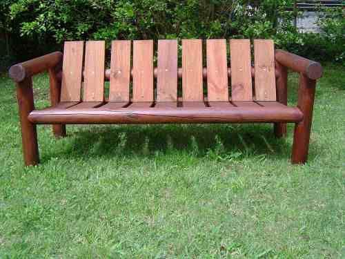 muebles de madera para jardin - Buscar con Google | Bancos ... - photo#40
