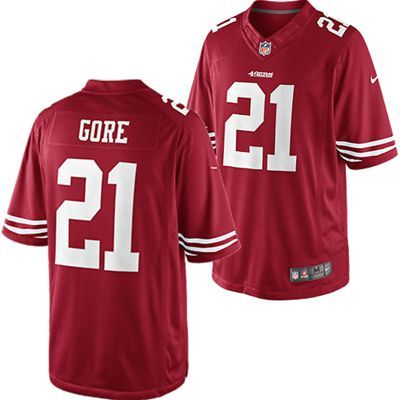 Cheap San Francisco 49ers Frank Gore #21 Limited Edition NFL Nike Jersey  for sale
