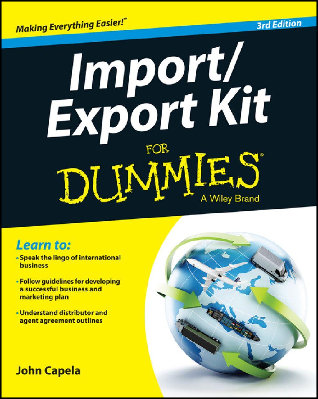 Import / Export Kit For Dummies (eBook) Capela, Ebook