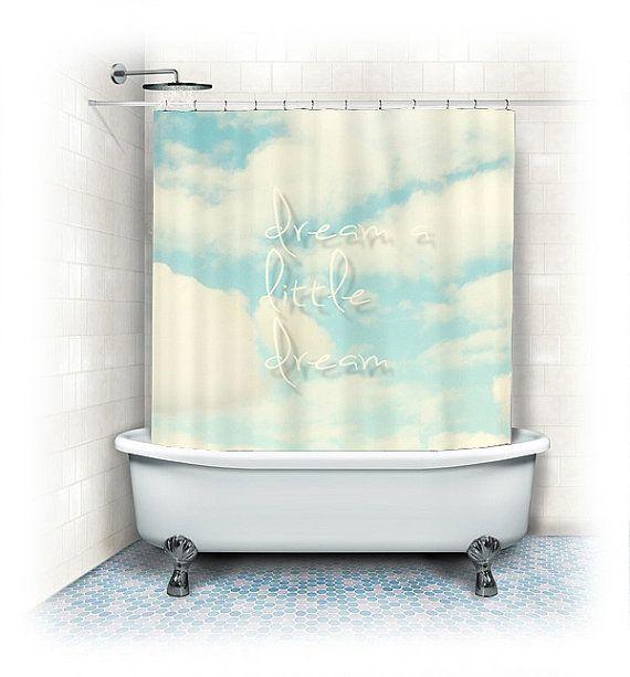 Cloud Shower Curtain \