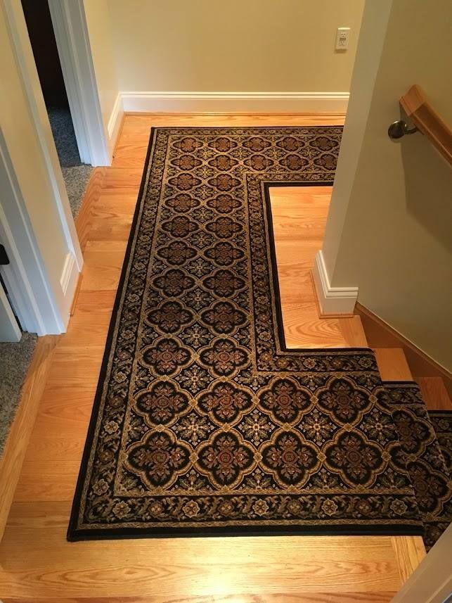 2017 Kane Dynasty Black Ming Custom Bound Fabricated Roll Runner 1 Carpet Runner Flooring Carpet