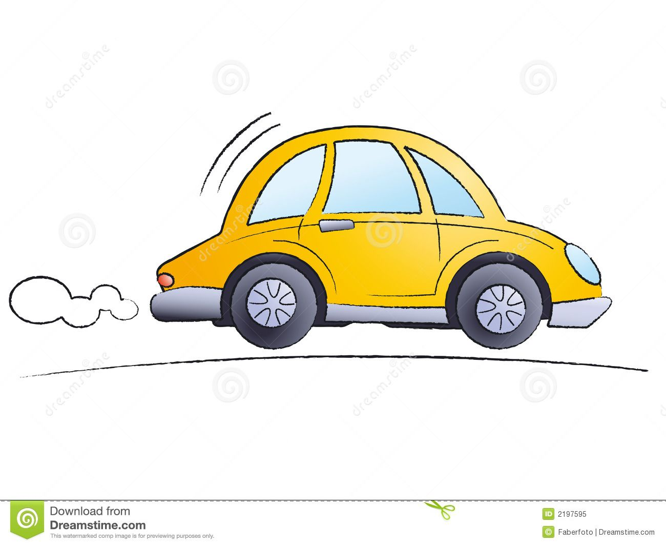 Cartoon Car Royalty Free Stock Photo Image 2197595 With Images