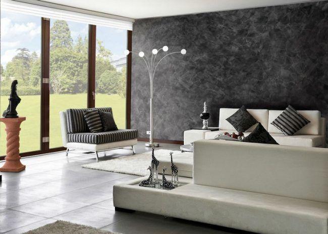 High Quality Wandgestaltung Mit Spachteltechnik Für Schöne Effekte Im Interieur