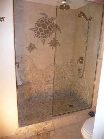 Instockcabs Com Shower Tile Pictures Doorless Shower Himacs Doorless Shower Turtle Bathroom Beach Theme Bathroom