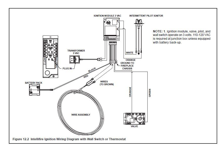 For A Dimplex Electric Fireplace Wiring Diagram