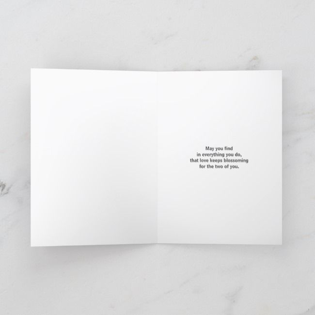 Valentines Day Engagement Scattered Red Congrat Holiday Card   Valentines Day Engagement Scattered Red Congrat Holiday Card
