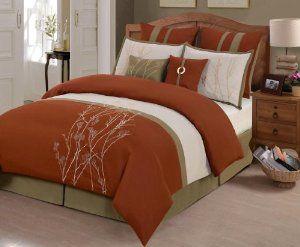 Rust Color Comforter Sets Home Kitchen Bedding Comforters Sets