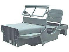 Omix Ada 12001 01 Mini Mb Body Kit For Atv Go Kart Riding