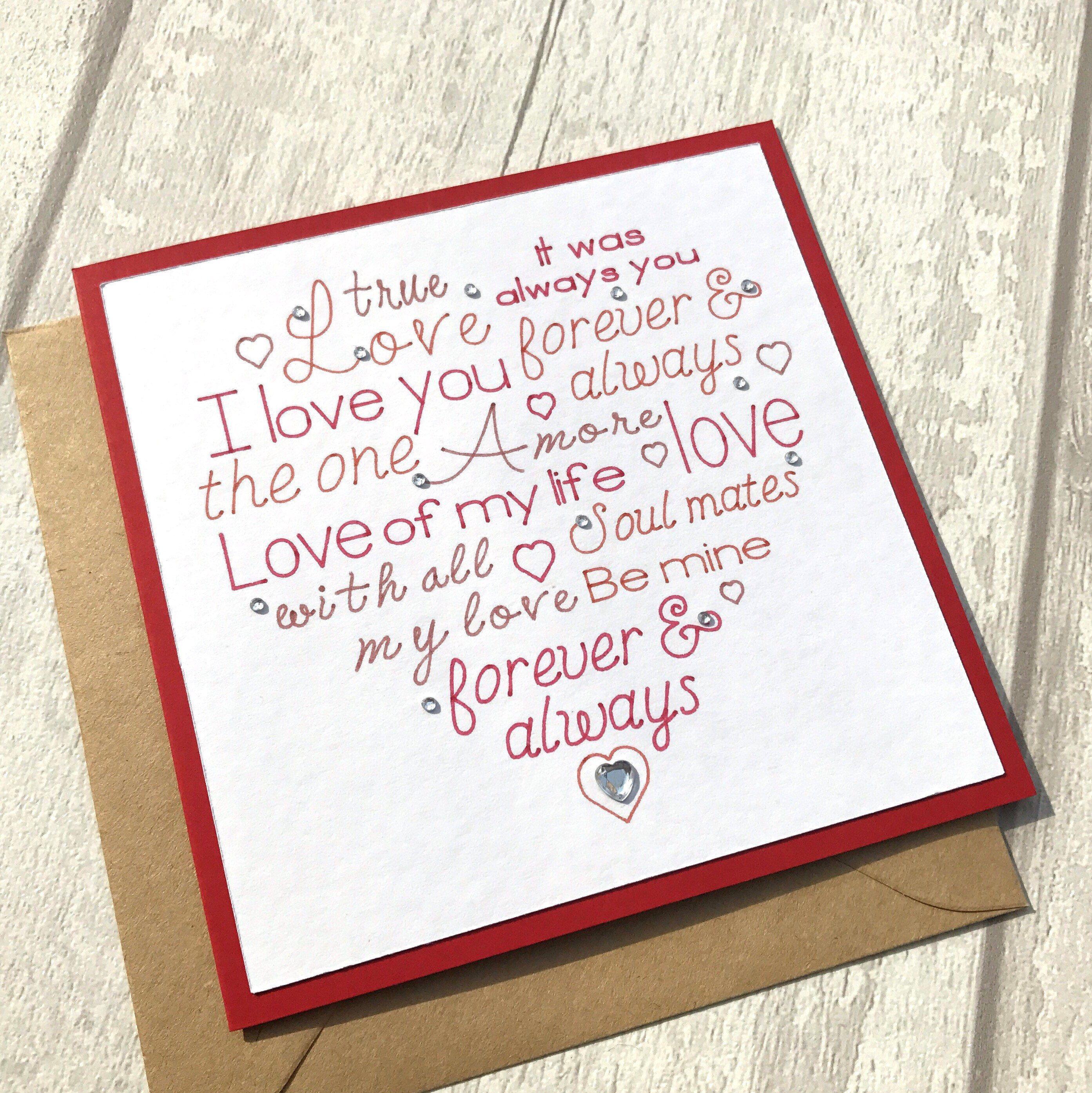 Romantic anniversary card anniversary card anniversary card