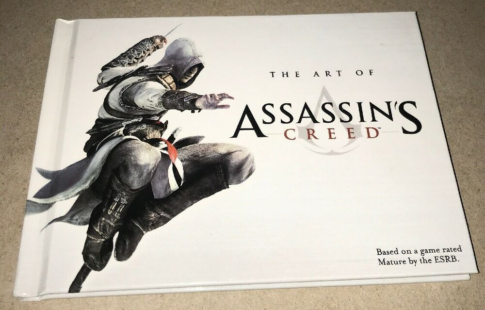 The Art of Assassins Creed book Sony Assassin's creed