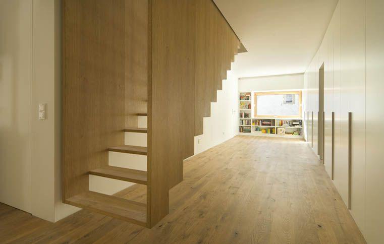 platzsparende treppe home improvement pinterest. Black Bedroom Furniture Sets. Home Design Ideas
