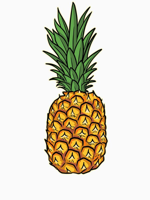 Sweet Pineapple Transparent Sticker By Kittyworks In 2020 Pineapple Illustration Pineapple Sticker Pineapple Painting