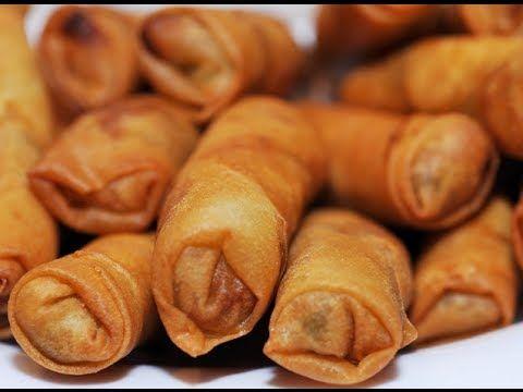 Filipino Spring Roll Lumpiang Sotanghon With Ground Beef Recipes Lumpia Lumpia Recipe