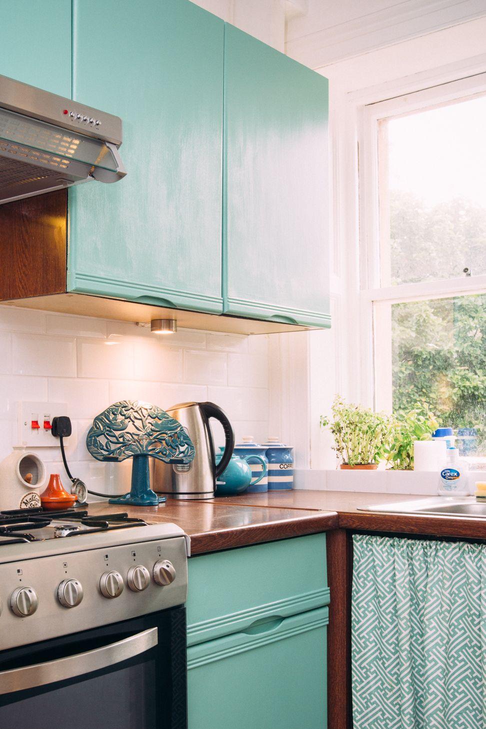 Best Farrow Ball Arsenic Kitchen Cabinet Makeover Cucine 640 x 480