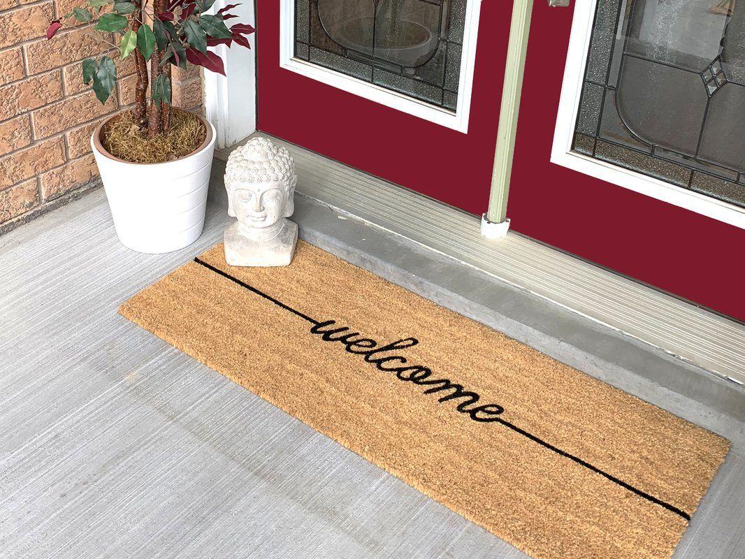 Jodi Welcome Extra Large Coir Double Doormat Door Mat Outdoor Door Mat Large Door Mats