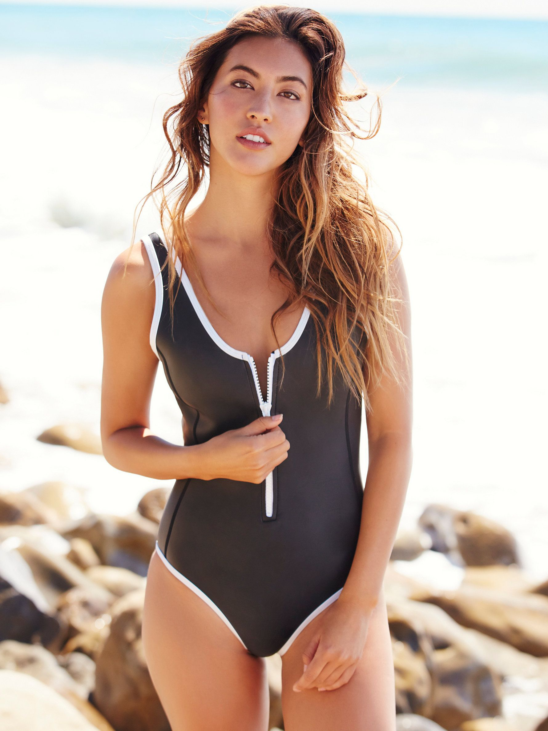 17b149bbf4e20 Sicily Scoop Neck One Piece | swimsuits in 2019 | One piece, Bathing ...