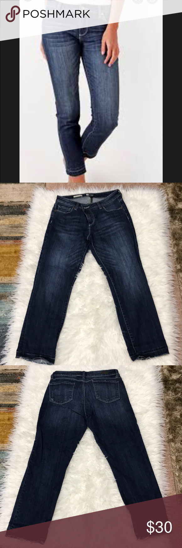 Kut From The Kloth Reese Ankle Straight Leg Jeans Straight Leg Jeans Kut From The Kloth Straight Leg