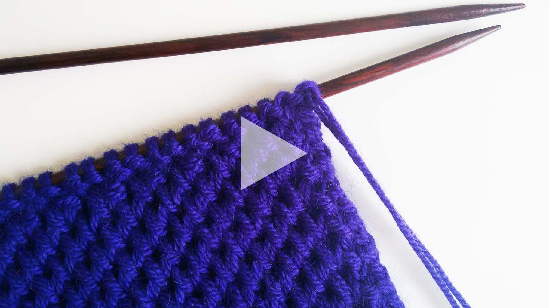 How To Knit Hexagon Stitch (wool And The Gang)