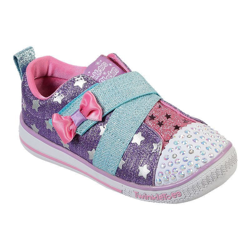 Skechers, Toddler girl, Fabric shoes